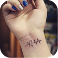 Love tattoo - Couple Tattoo design