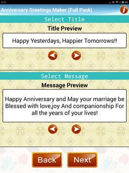 Make Marriage Anniversary Greetings Wedding Card screenshot 17
