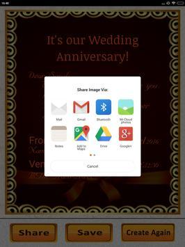 Anniversary invitation maker party wedding wishes apk download anniversary invitation maker party wedding wishes apk screenshot stopboris Choice Image