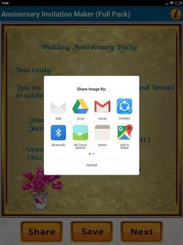 Anniversary invitation cards para android apk baixar anniversary invitation cards imagem de tela 15 stopboris Choice Image