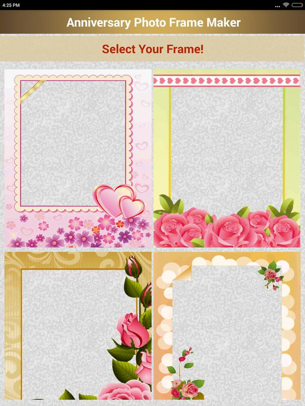 Anniversary Photo Frame Maker APK Download - Free Productivity APP ...