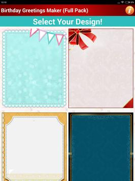 Design Birthday Greeting Cards screenshot 12