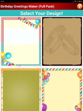 Design Birthday Greeting Cards screenshot 13