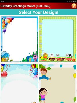 Design Birthday Greeting Cards screenshot 16