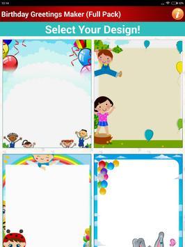 Design Birthday Greeting Cards apk screenshot