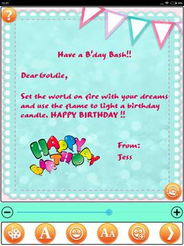 Design Birthday Greeting Cards screenshot 23