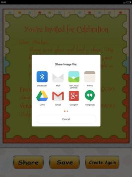 Birthday invitation card maker apk download free tools app for birthday invitation card maker apk screenshot stopboris Choice Image