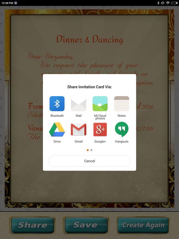 Wedding Invitation Cards Maker Marriage Card App APK डाउनलोड ...