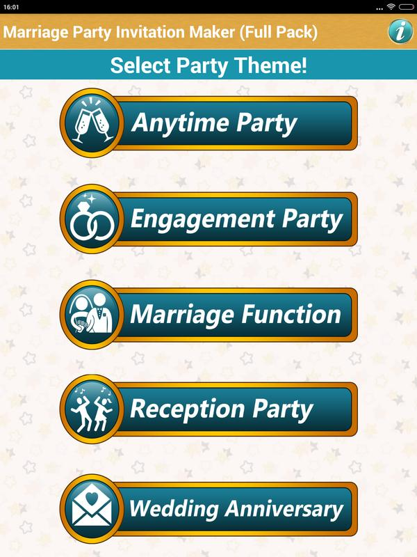 Make Marriage Invitation Cards APK Download - Free Tools APP for ...