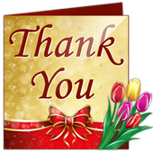 Design Thank You Greeting Card icon