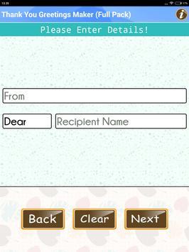 Design Thank You Greeting Card apk screenshot