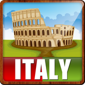 Italy Popular Tourist Places icon