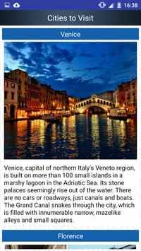 Italy Popular Tourist Places screenshot 3