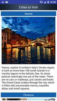 Italy Popular Tourist Places apk screenshot