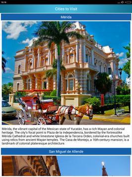 Mexico Popular Tourist Places screenshot 18