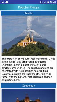 Mexico Popular Tourist Places screenshot 2