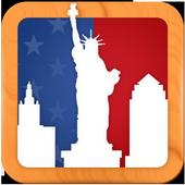 United States Tourist Places icon