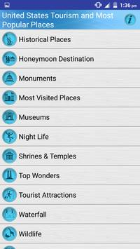 United States Tourist Places screenshot 1