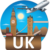 United Kingdom Tourist Places icon