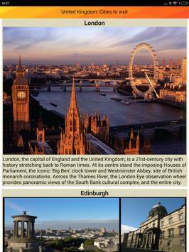 United Kingdom Tourist Places apk screenshot