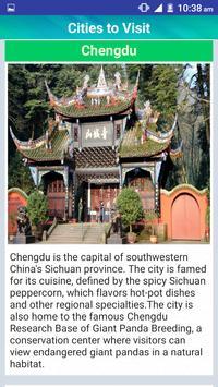 China Popular Tourist Places screenshot 3