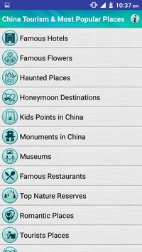 China Popular Tourist Places apk screenshot