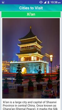 China Popular Tourist Places apk screenshot