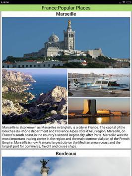 France Popular Tourist Places apk screenshot