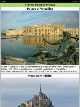 France Popular Tourist Places screenshot 21