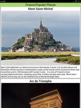 France Popular Tourist Places screenshot 22