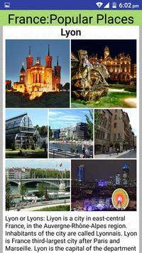 France Popular Tourist Places screenshot 2