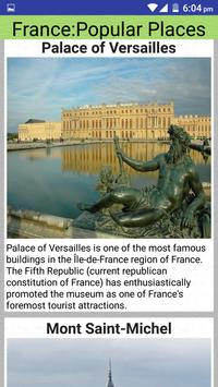 France Popular Tourist Places screenshot 6