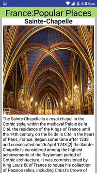 France Popular Tourist Places screenshot 7