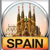 Spain Popular Tourist Places icon
