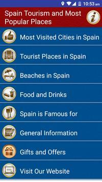 Spain Popular Tourist Places apk screenshot
