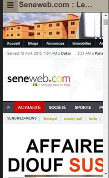 Sénégal Actu (Top sites infos) poster