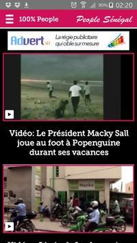 Actualité People au Sénégal apk screenshot