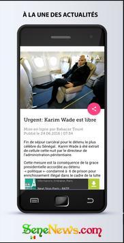 SeneNews : News in Senegal apk screenshot