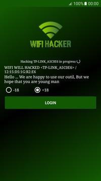 Senha Wifi Hacker Prank apk screenshot