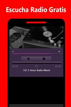 107.5 Amor Radio screenshot 2