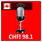 Radio CHFI 98.1 icon