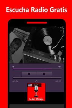 La Ley 107.9 FM Radio Chicago App screenshot 2