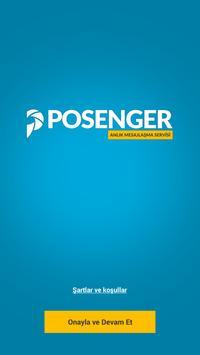 Posenger poster