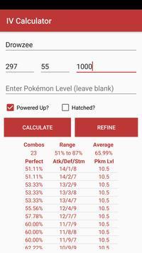 Calculator for Pokémon GO apk screenshot