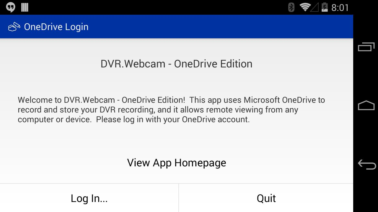DVR Webcam - OneDrive Edition for Android - APK Download