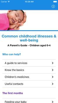 Cheshire Child Health poster