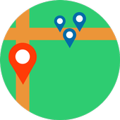 Where Are We - GPS icon