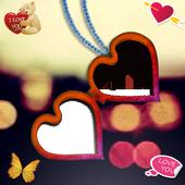 صورتك و صورة حبيبك في سلسلة icon