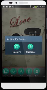 صورتك و صورة حبيبك في سلسلة apk screenshot