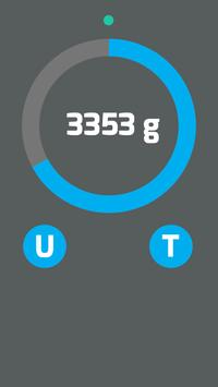 Digital bluetooth Scale S5000 connection test app screenshot 2